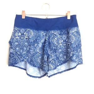 CALIA Carrie Underwood Print Flutter Shorts Lined